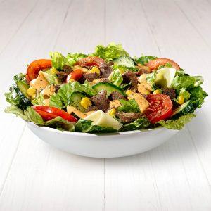 Chipotle Steak salat
